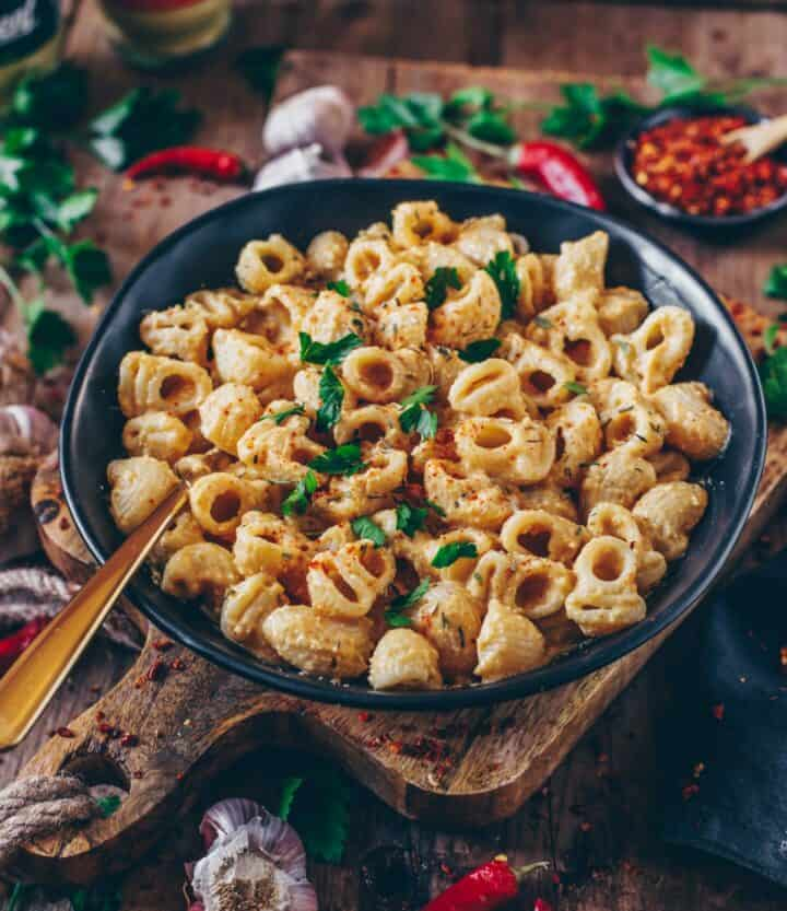 Veganes Mac and Cheese