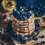 vegan pancakes pfannkuchen