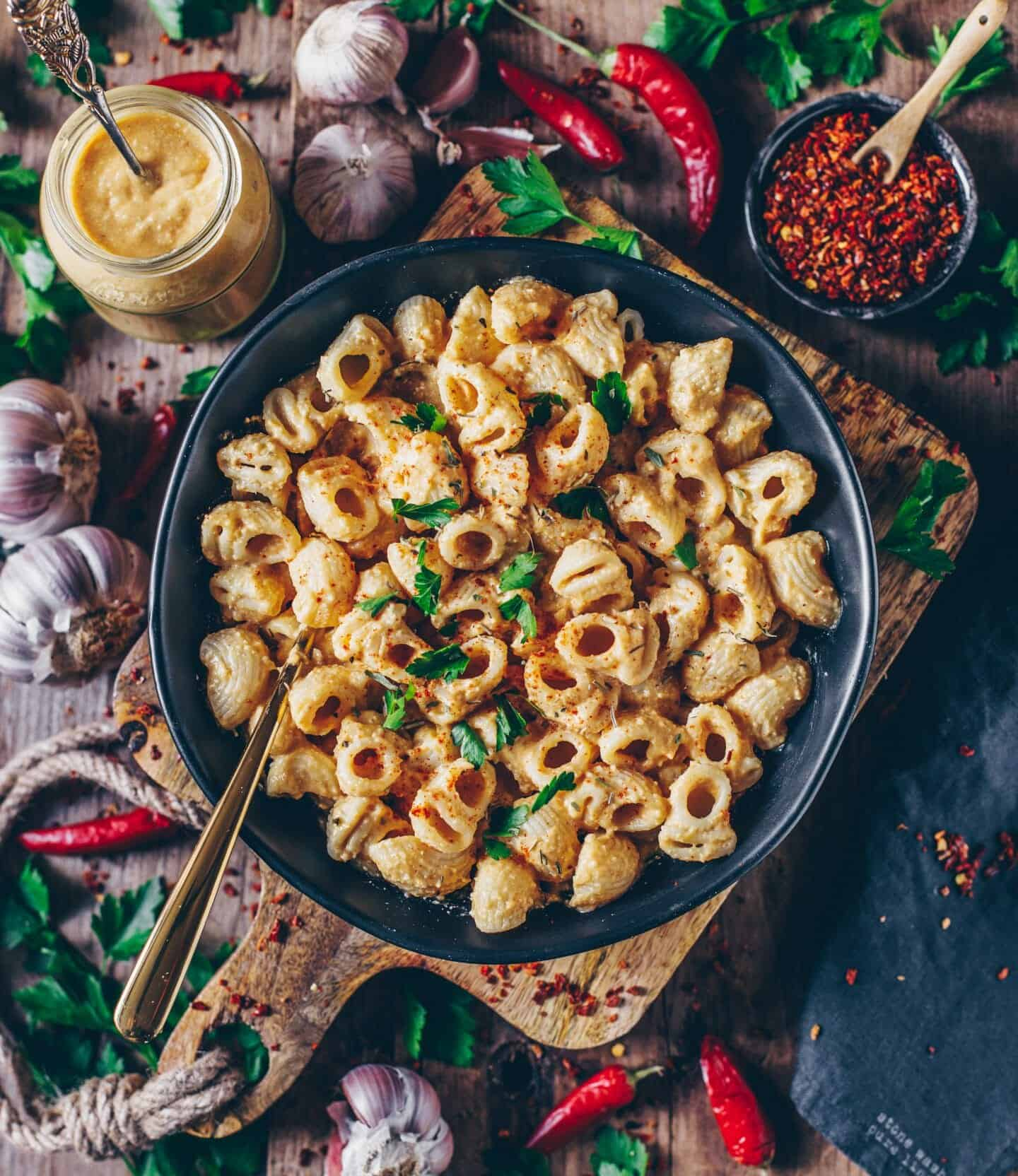 mac and cheese vegan cheese sauce recipe
