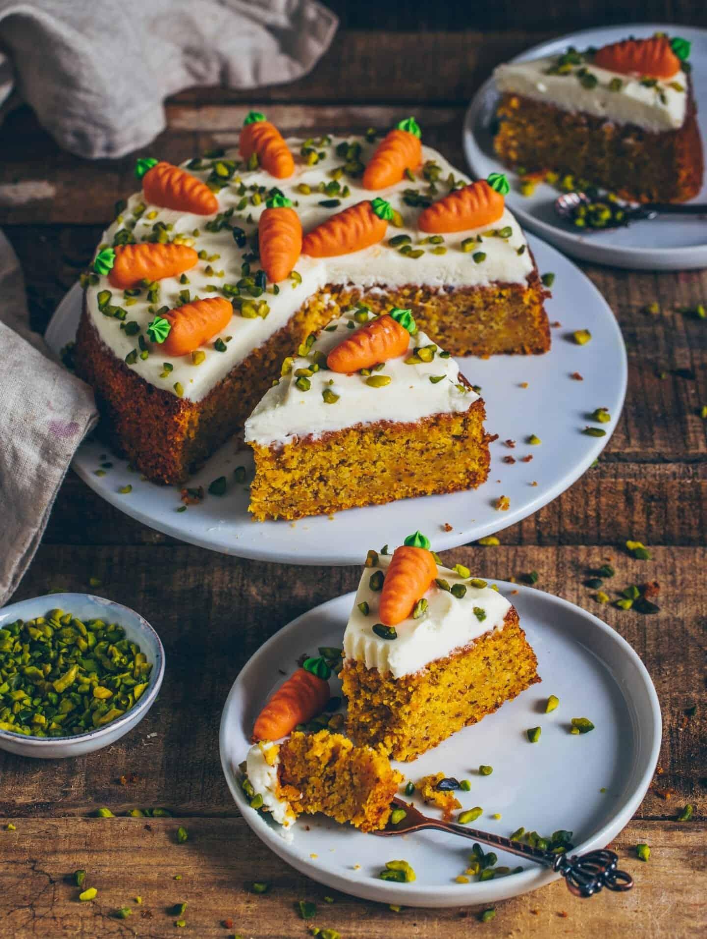 Karottenkuchen Mohrenkuchen Vegan Bianca Zapatka