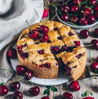 cherry cake easy simple recipe