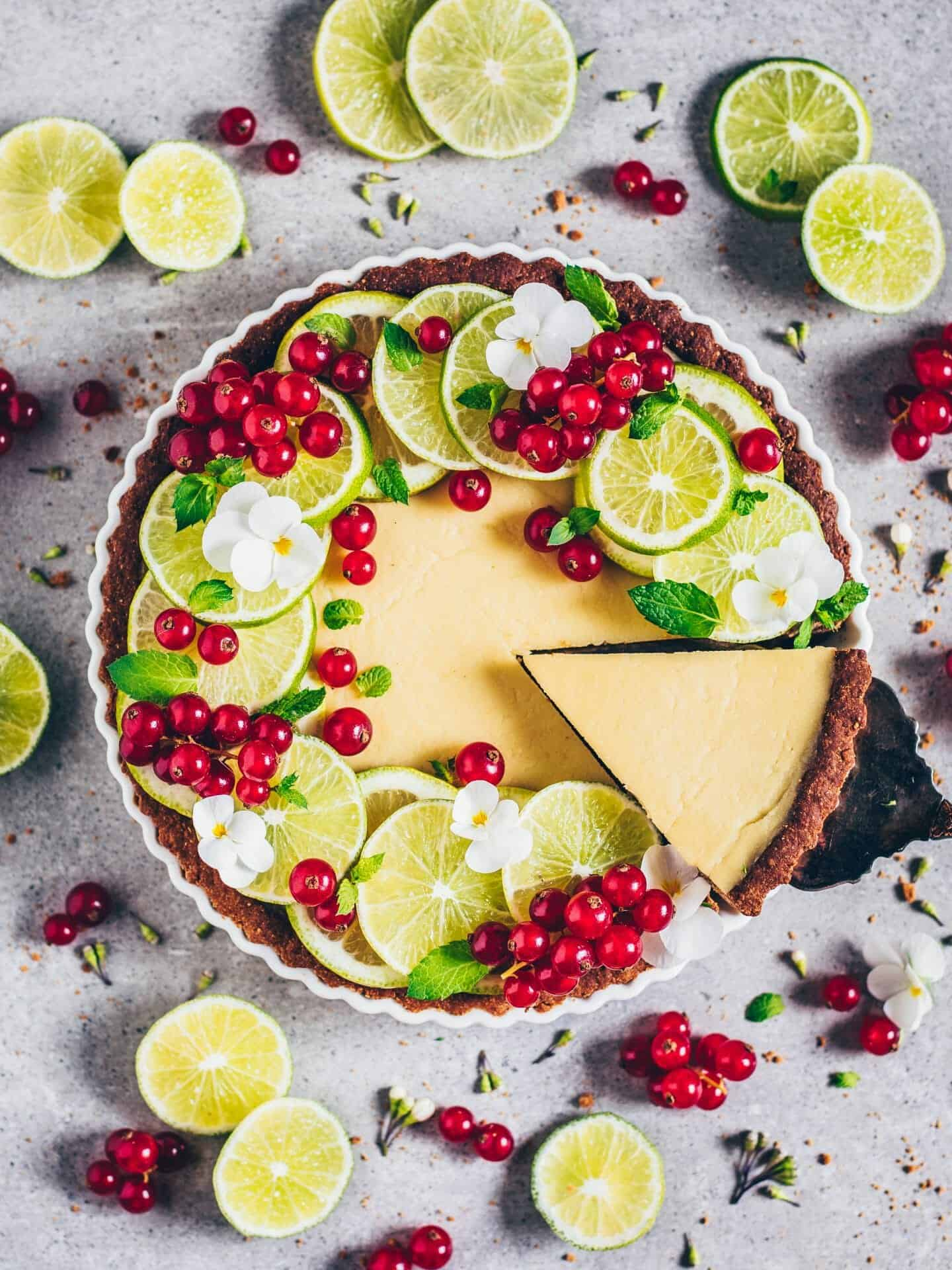 vegan key lime pie (gluten-free)