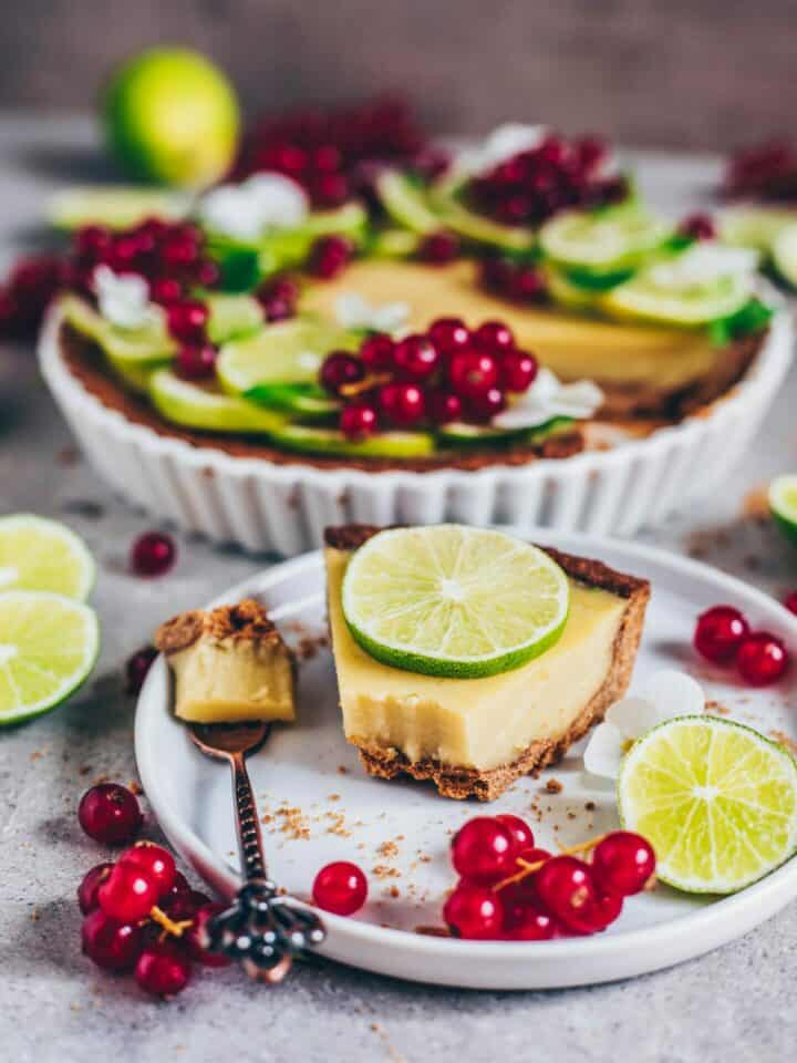 vegan key lime pie gluten-free