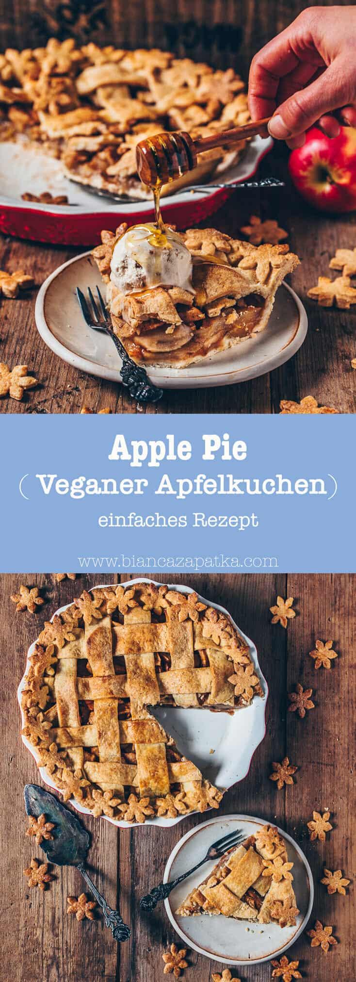 Apfelkuchen Vegan Apple Pie Einfaches Rezept Bianca Zapatka