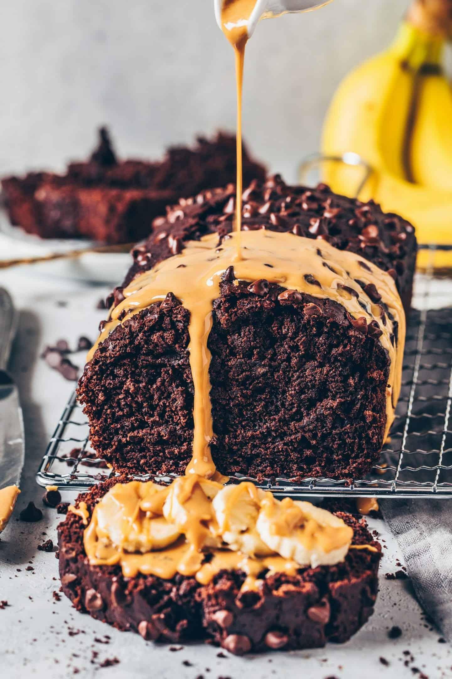 Best Vegan Chocolate Banana Bread Bianca Zapatka Foodblog
