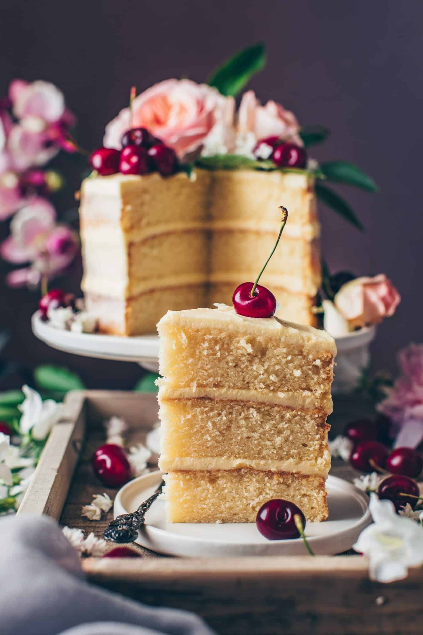 Vanille Creme Torte Vegan Bianca Zapatka Foodblog