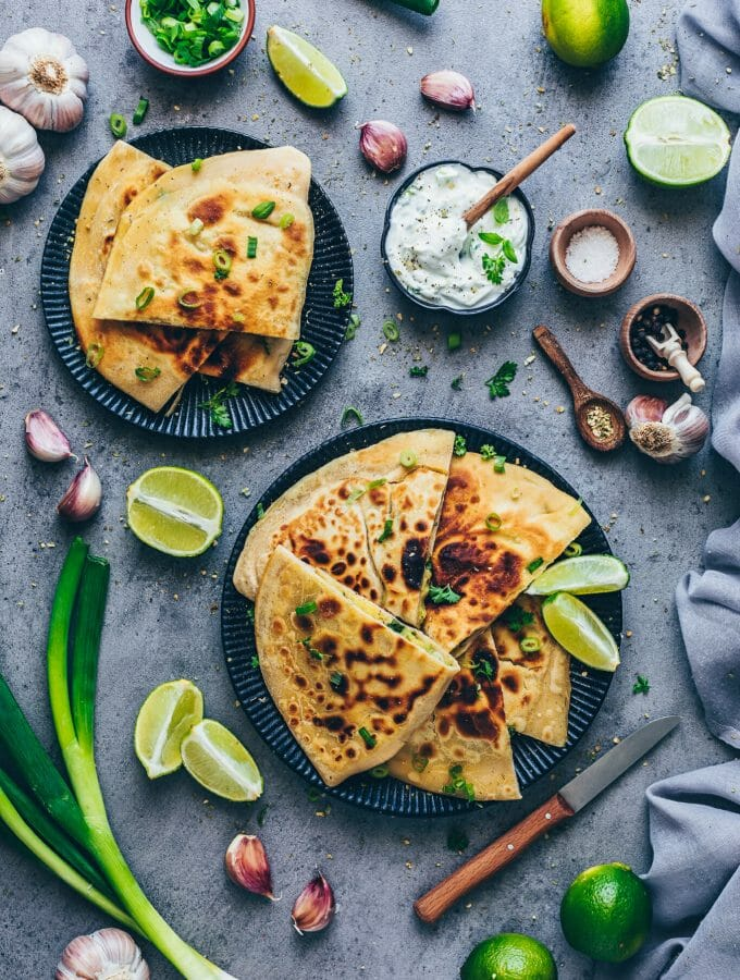 Indian potato stuffed flatbread