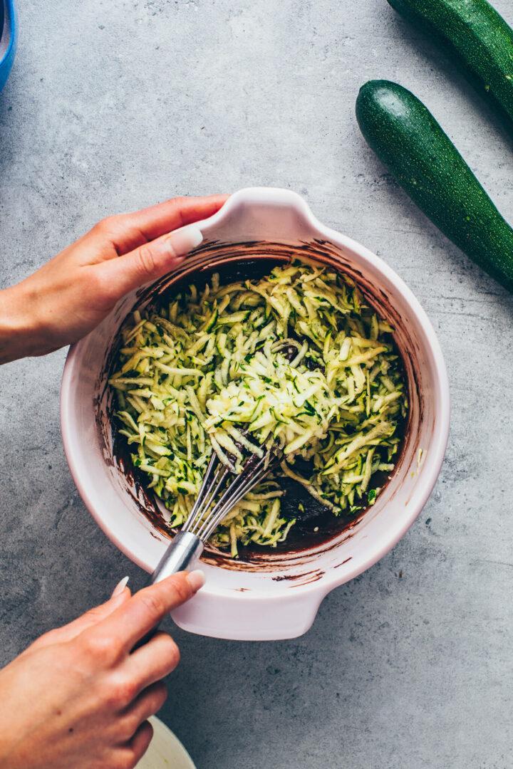 Zucchini Schokoladenkuchen Rezept