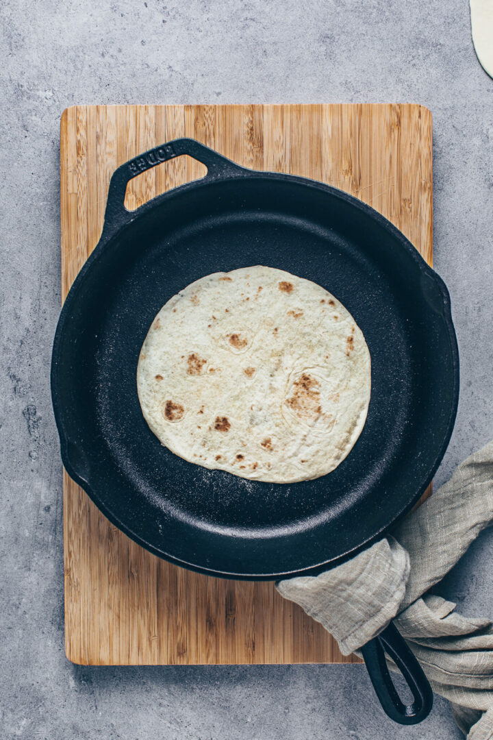 How to cook Tortillas in a skillet for soft Tacos, Wraps, Burritos