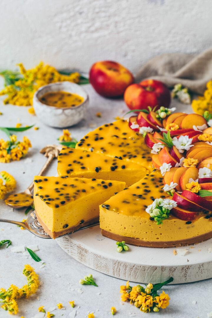 Mango Cheesecake | Passion Fruit Cake