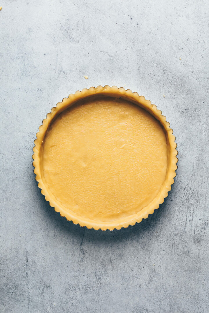 how to make perfect tart shell with homemade pie dough pastry
