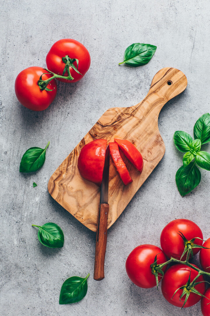 how to peel and chop tomatoes - step-by-step guide