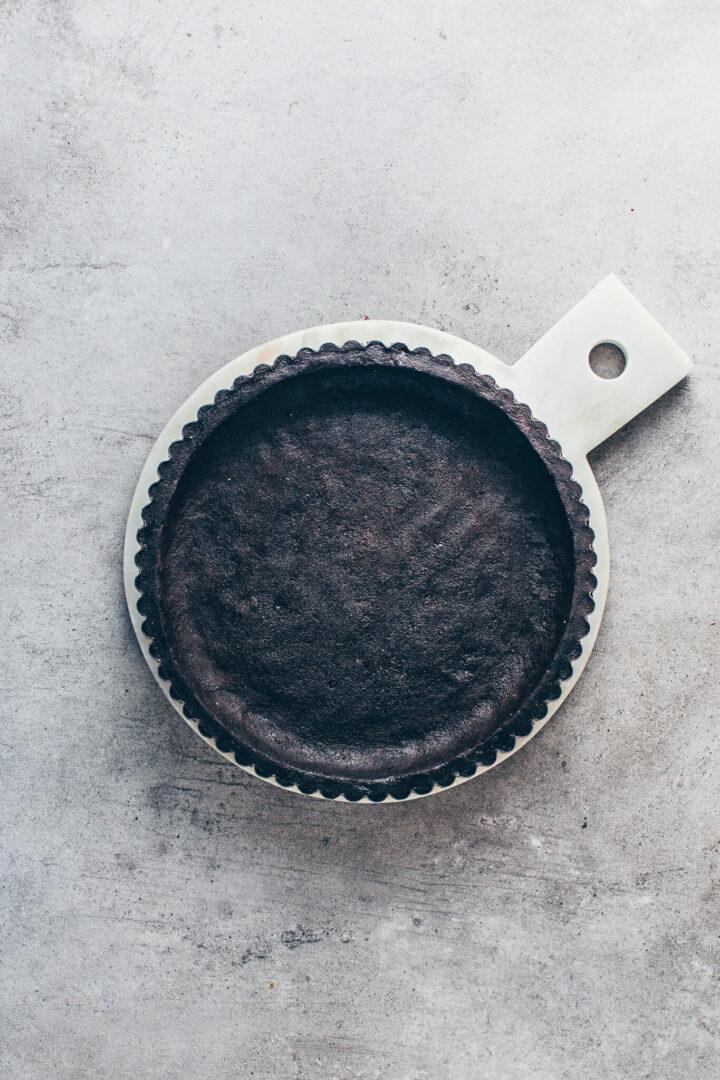 Oreo Keksboden Rezept für Torte Torte Kuchen