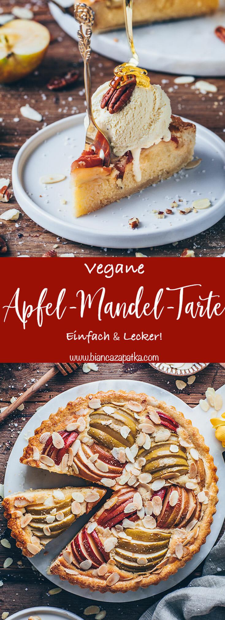 Apfel Tarte Mandel Kuchen