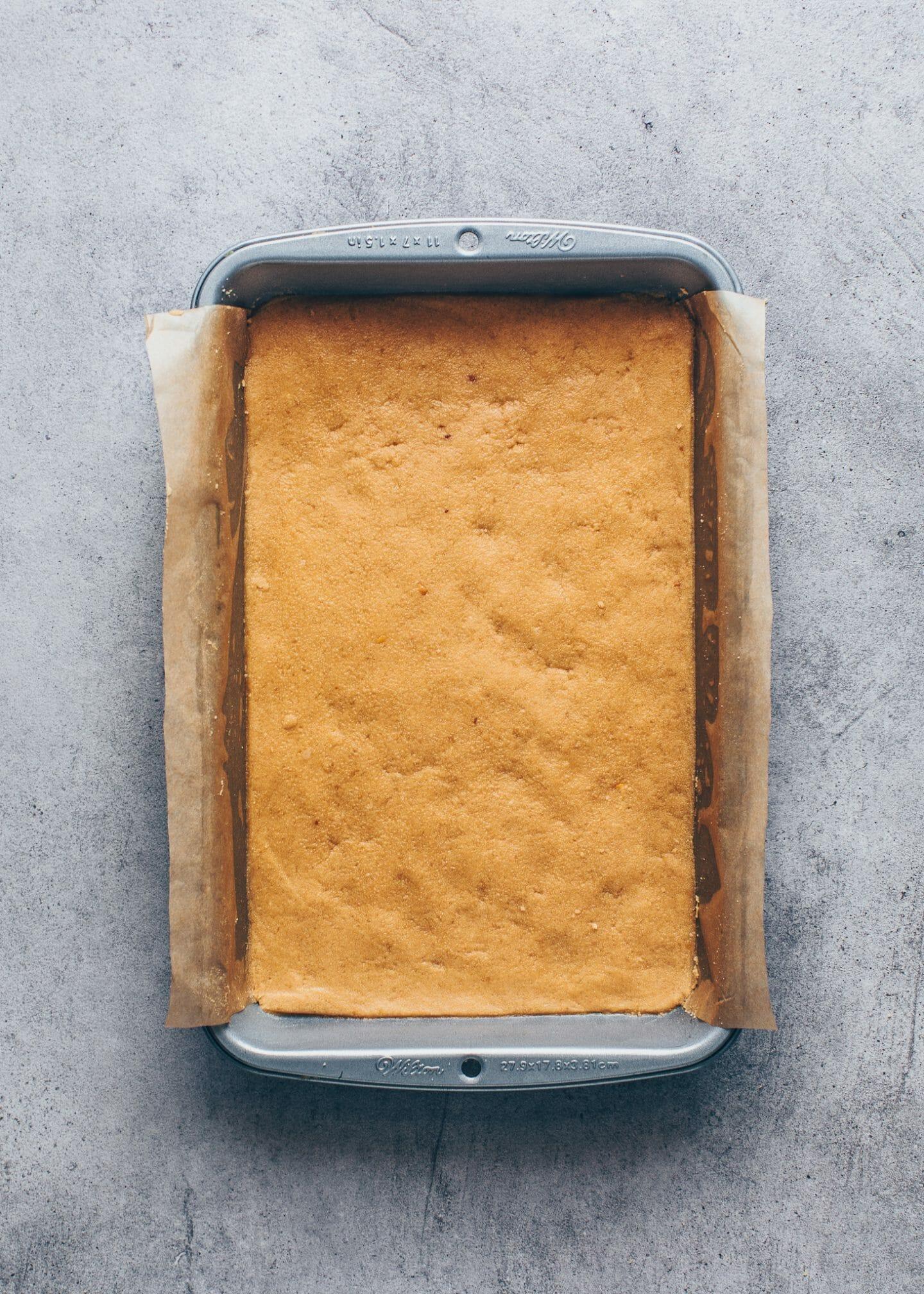 Kuchenboden aus Kekse