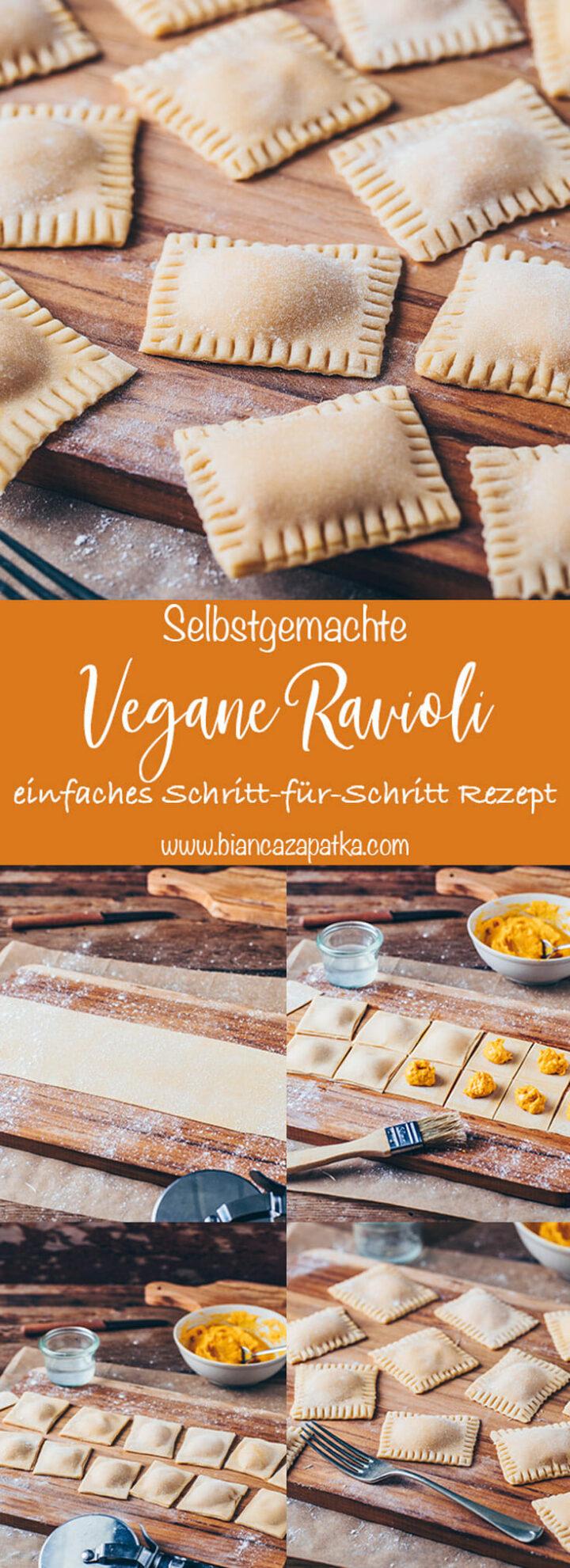 Ravioli selber machen (Nudeln, Pasta Teigtaschen) Rezept