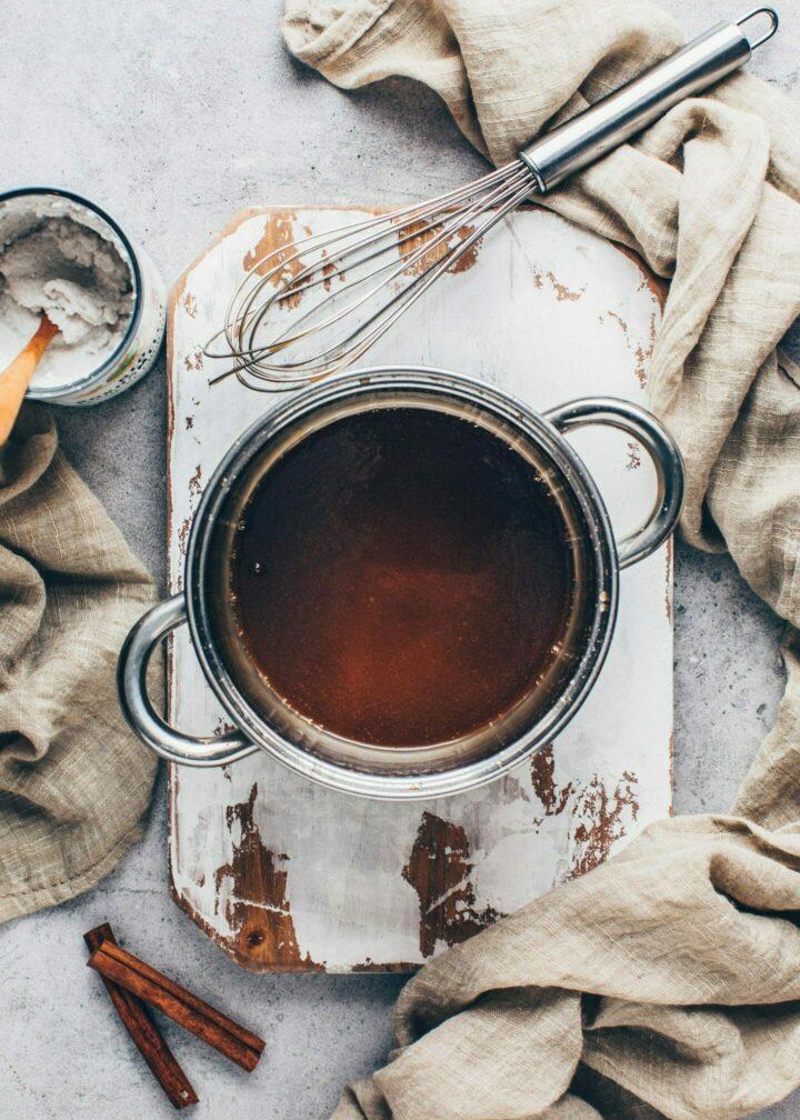vegan caramel sauce recipe