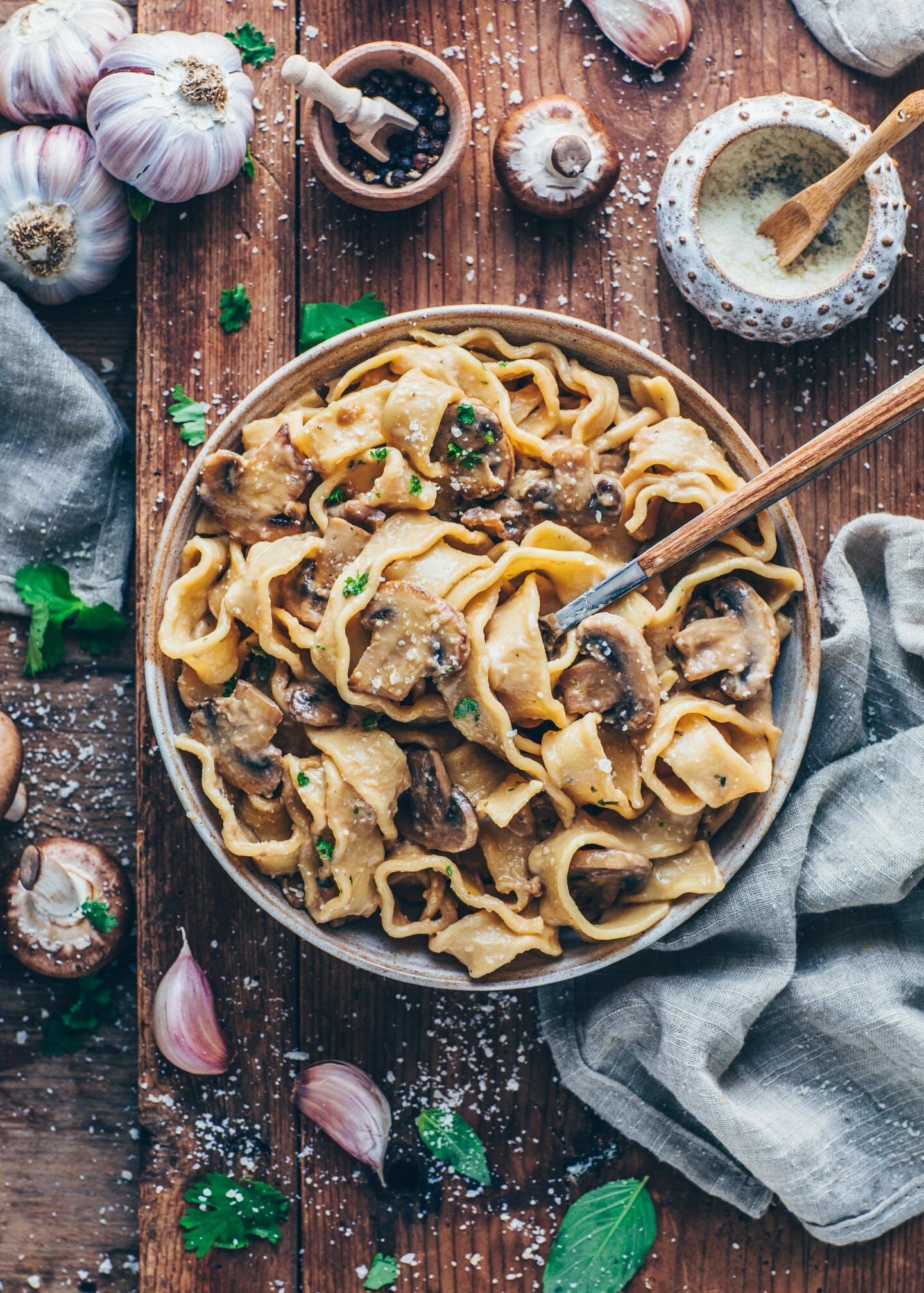 Mushroom Stroganoff (Best Easy Vegan Recipe)