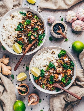 Veganes Linsen Dal (Indisches Curry)