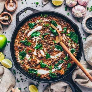 Coconut Black Lentil Curry (Indian Dal Makhani)