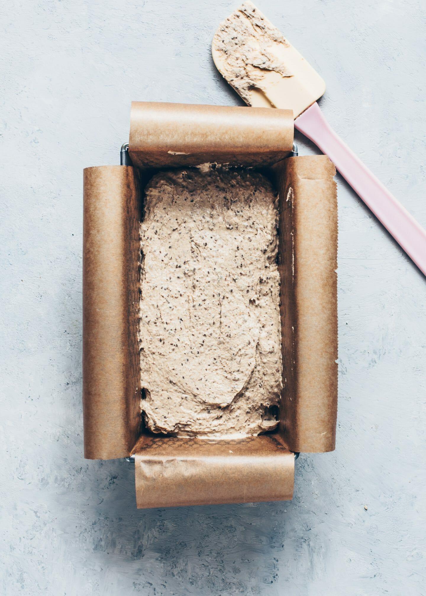 How to make buckwheat chia bread (paleo, vegan, egg-less, healthy, dairy-free)