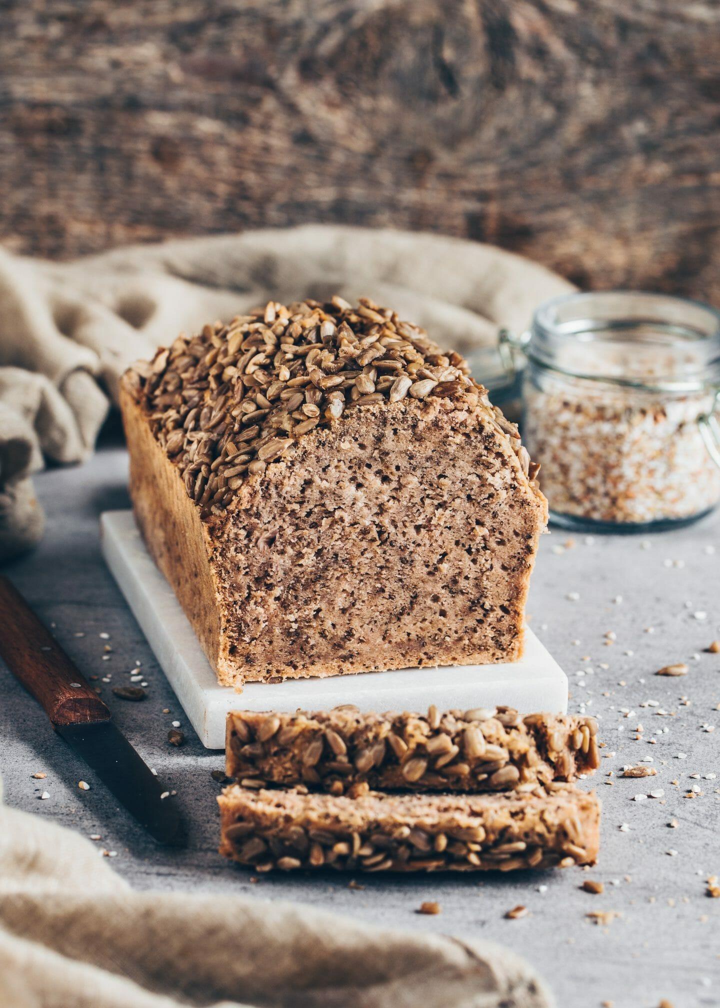 Best buckwheat chia bread (easy no-knead bread)