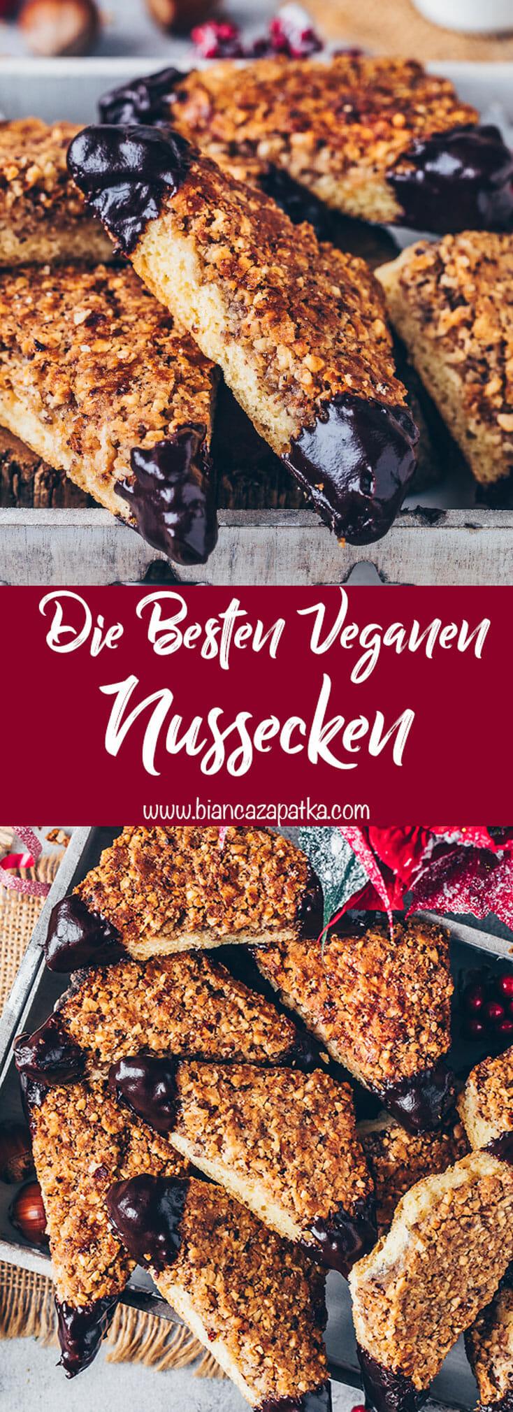 Vegane Nussecken