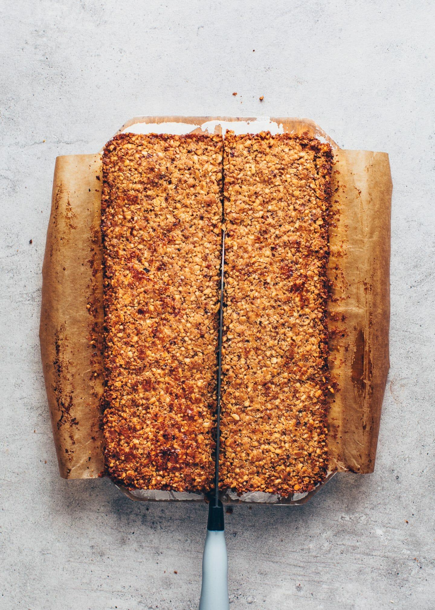 vegan nut bars (cookie corners)
