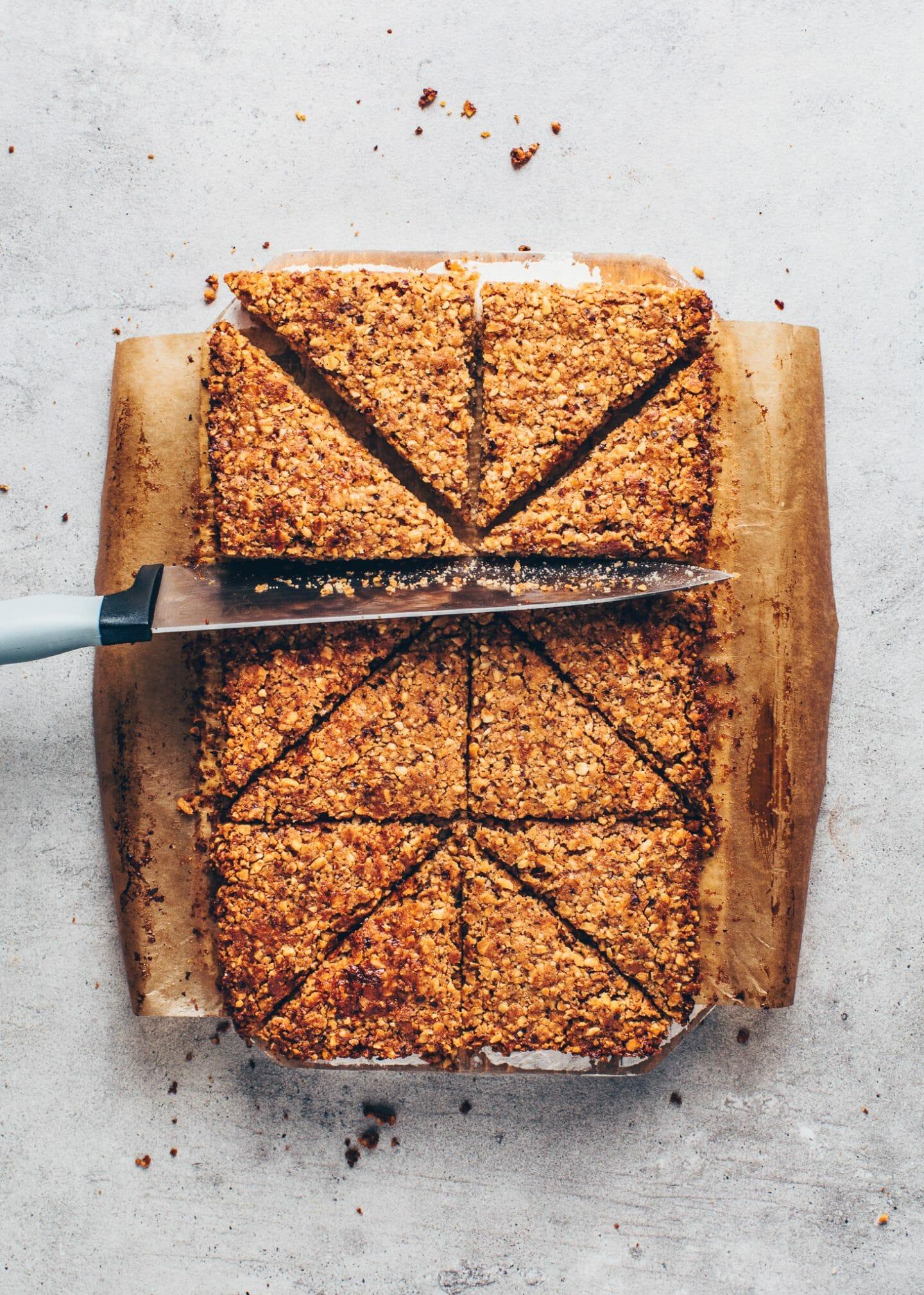 nut bars (hazelnut cookie corners)