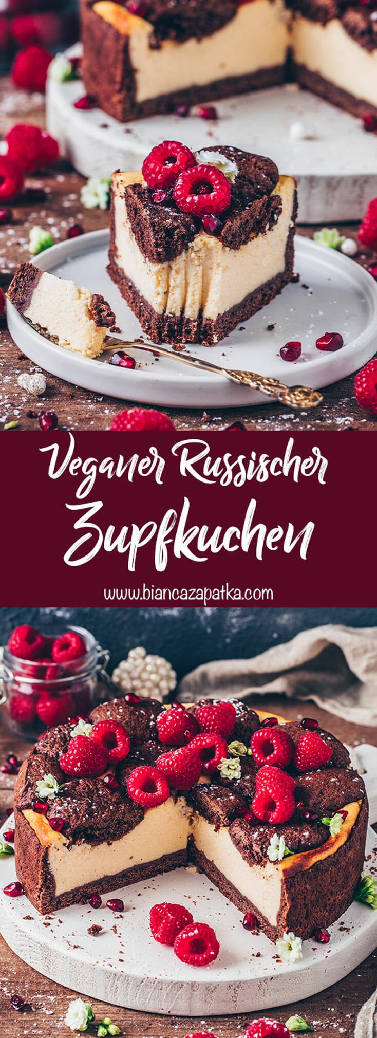Veganer Russischer Zupfkuchen