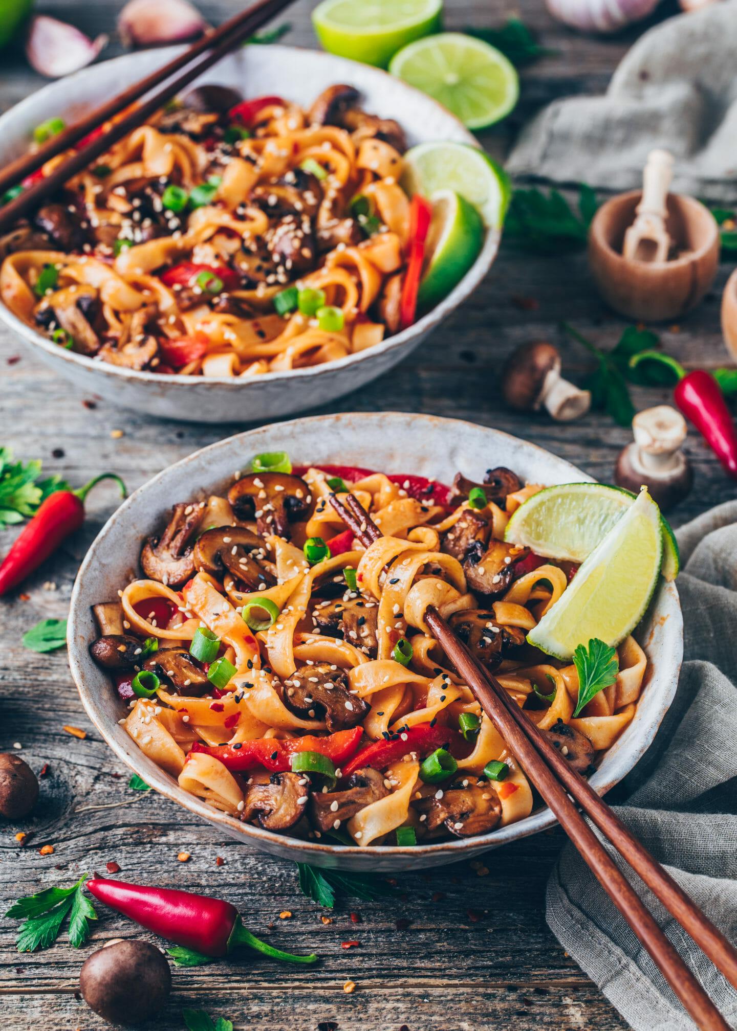 Asian Noodles (20-Minute vegetable Thai Stir-fry)