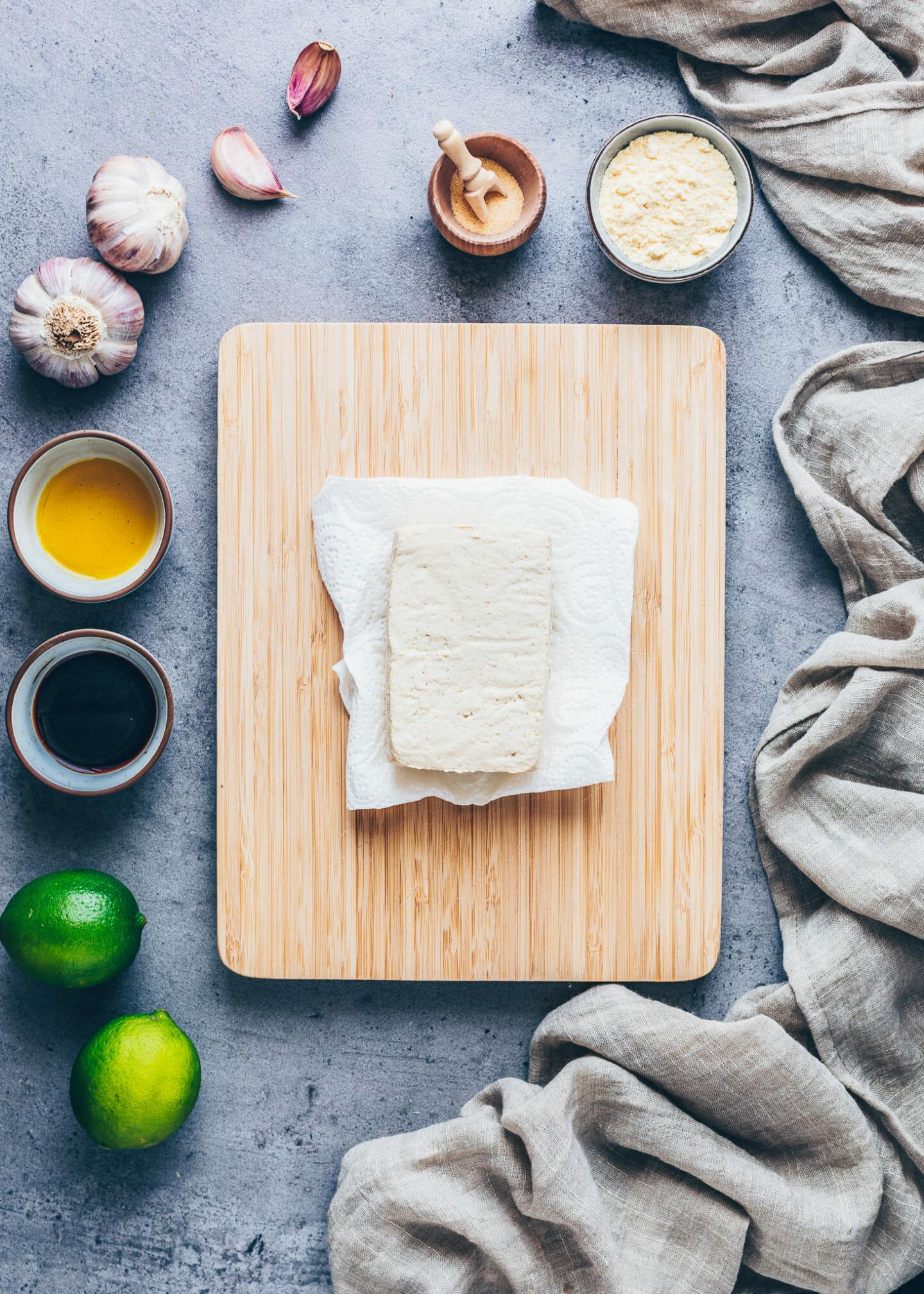 Tofu richtig zubereiten Schritt für Schritt