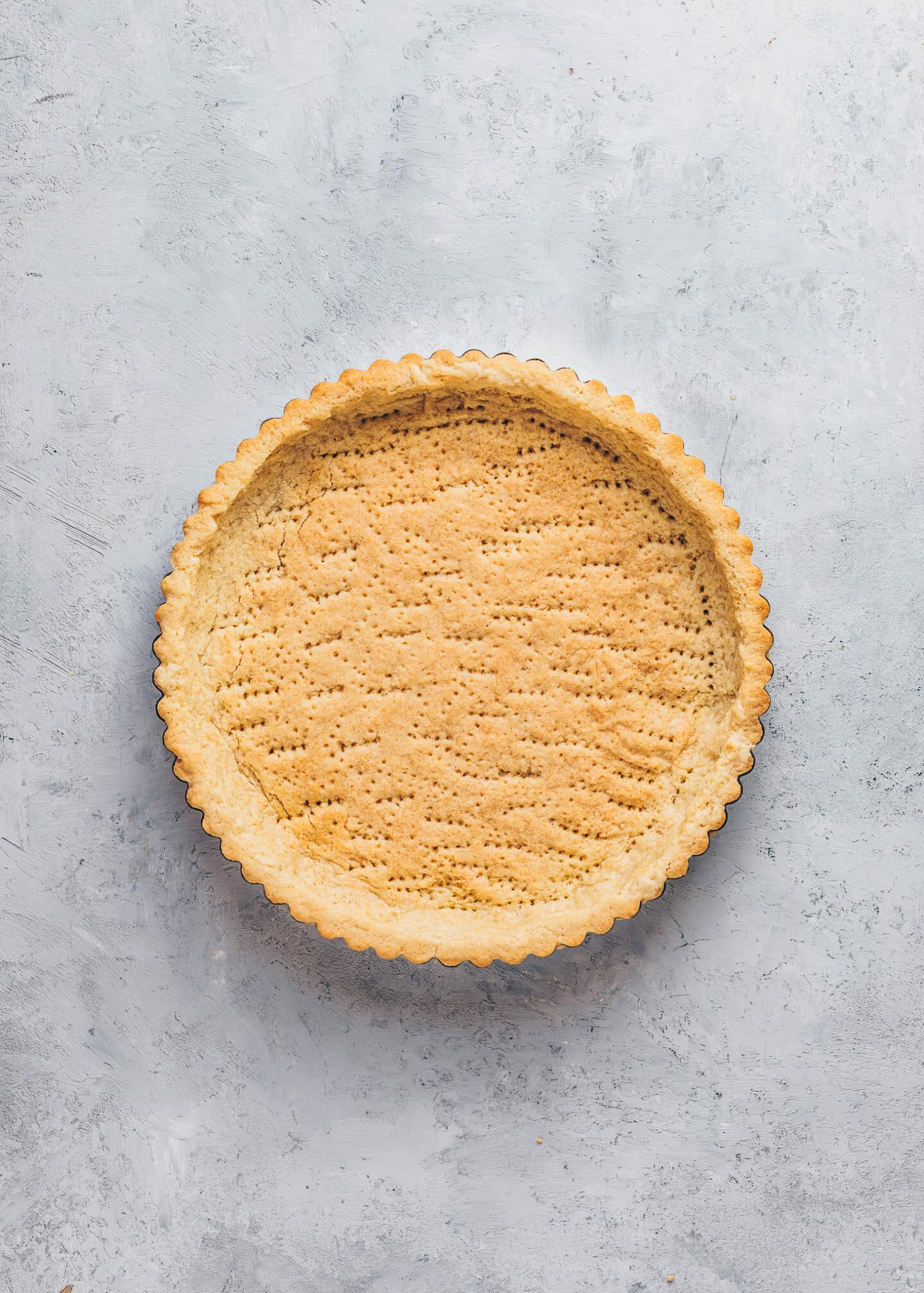 Pre-baked Tart shell