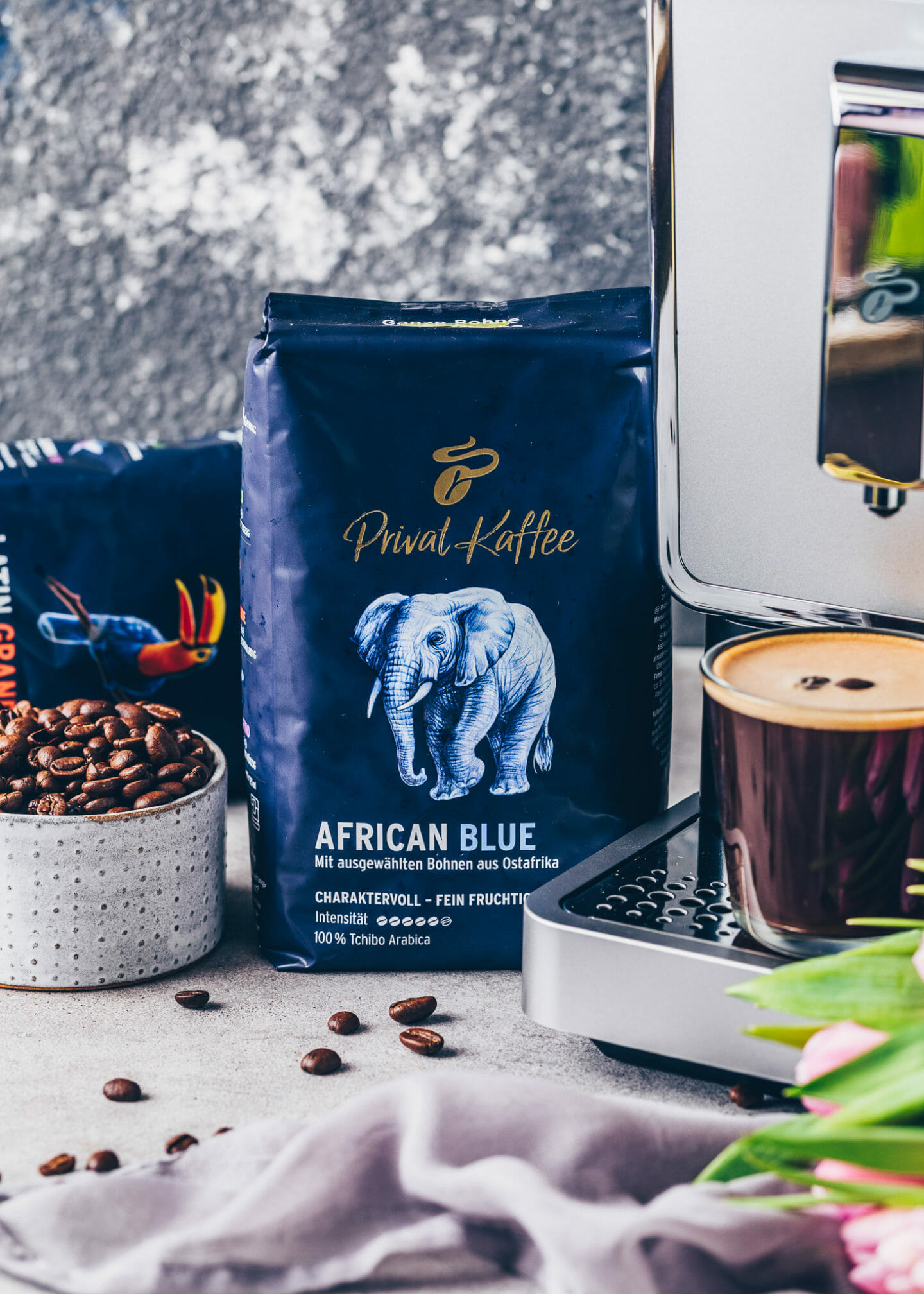 African Blue Tchibo Privat Kaffee