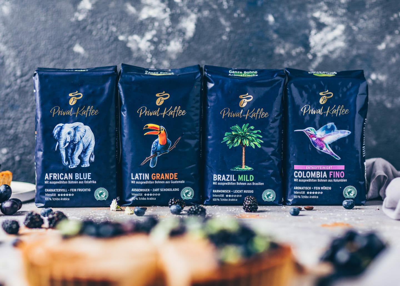 Tchibo Privat Kaffee Sorten