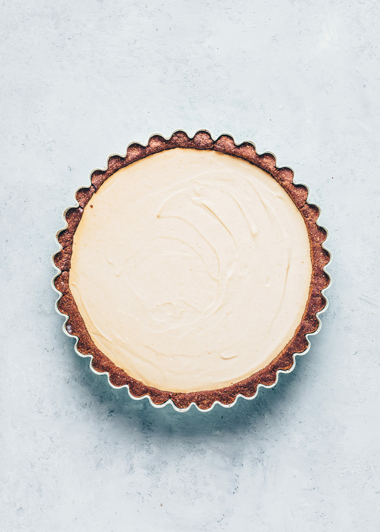 Peanut Butter Tart with Chocolate Pie Crust
