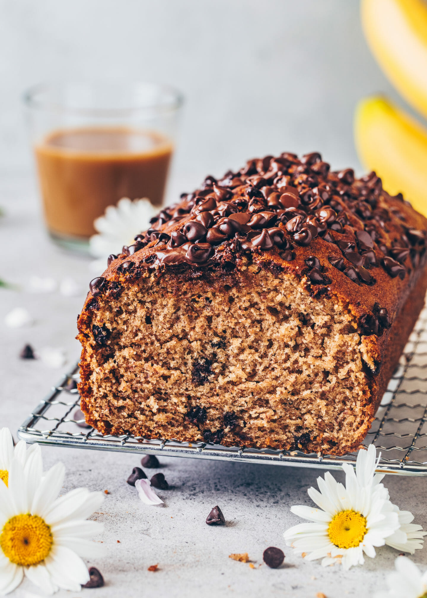 Best Vegan Banana Bread with chocolate chips (Easy One-Bowl Recipe)