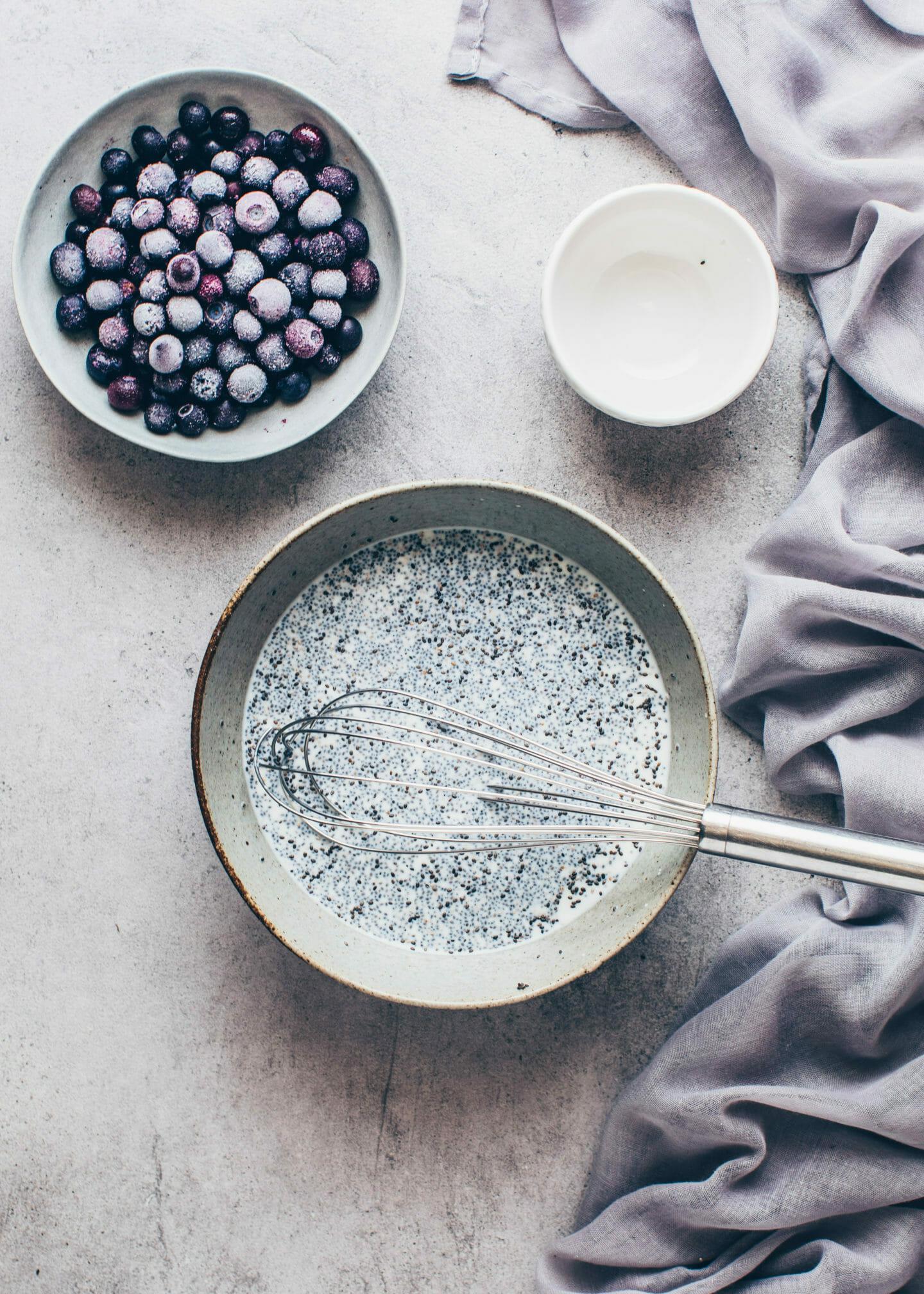 Chia-Pudding zubereiten