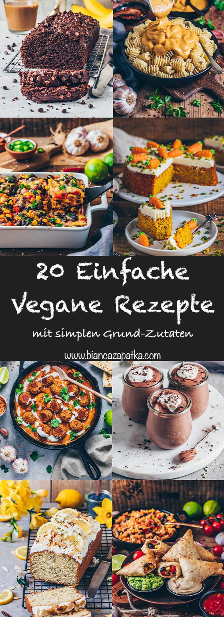 Einfache Vegane Rezepte
