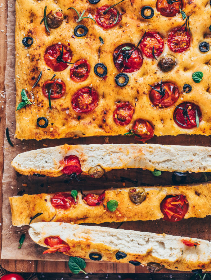 Vegan Focaccia Bread (Best Easy Recipe)