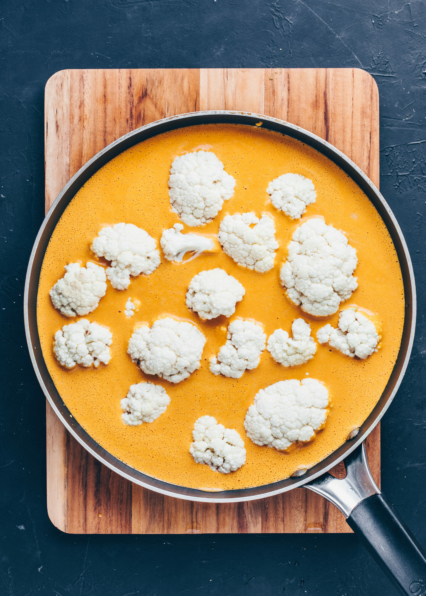 Cauliflower Korma Coconut Curry
