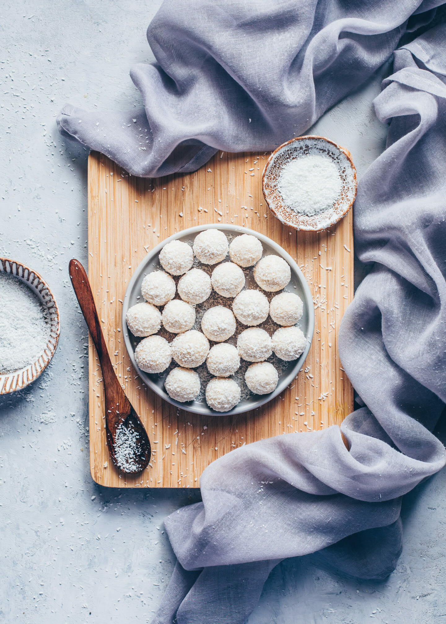 Homemade Vegan Raffaelo Coconut Balls