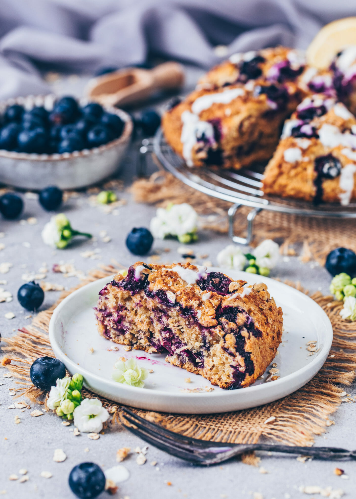 Blueberry Scones (easy, vegan, best recipe)
