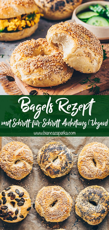 Bagels Rezept (Einfach, selbstgemacht)