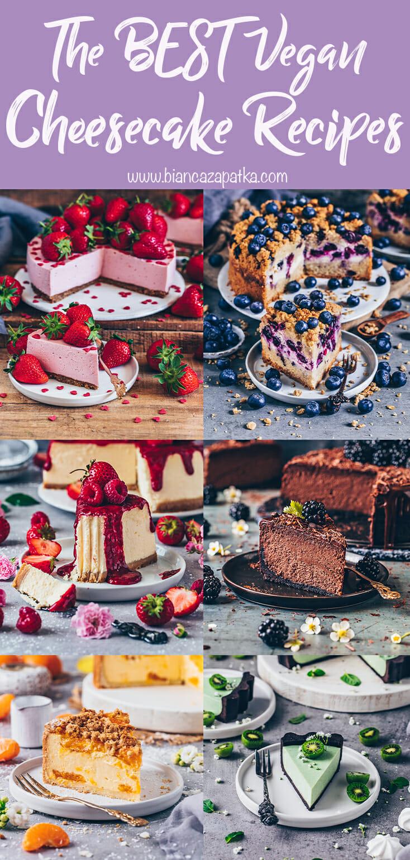 The best vegan cheesecake recipes