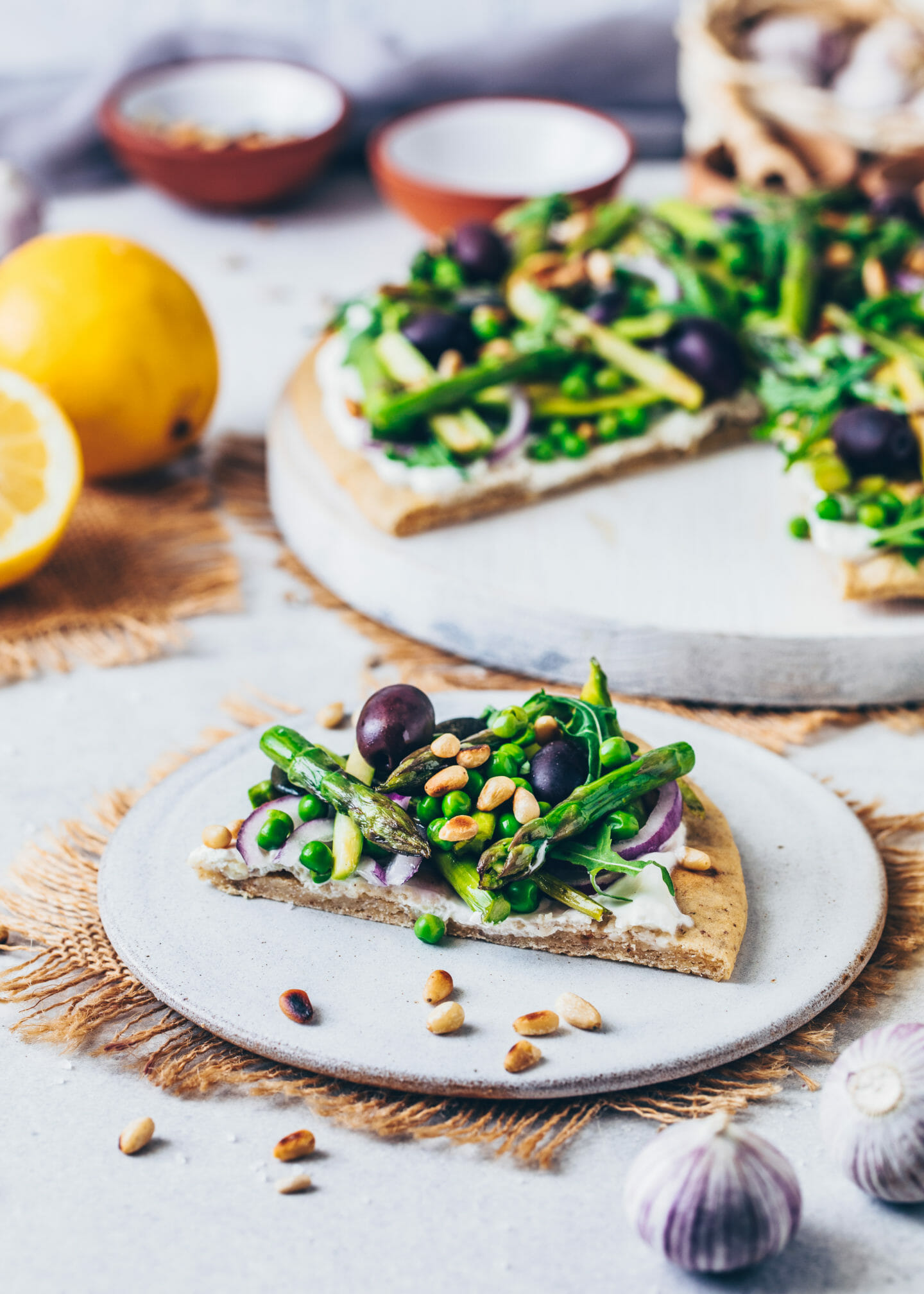Green Goddess Pizza (gluten-free Quinoa Pizza)
