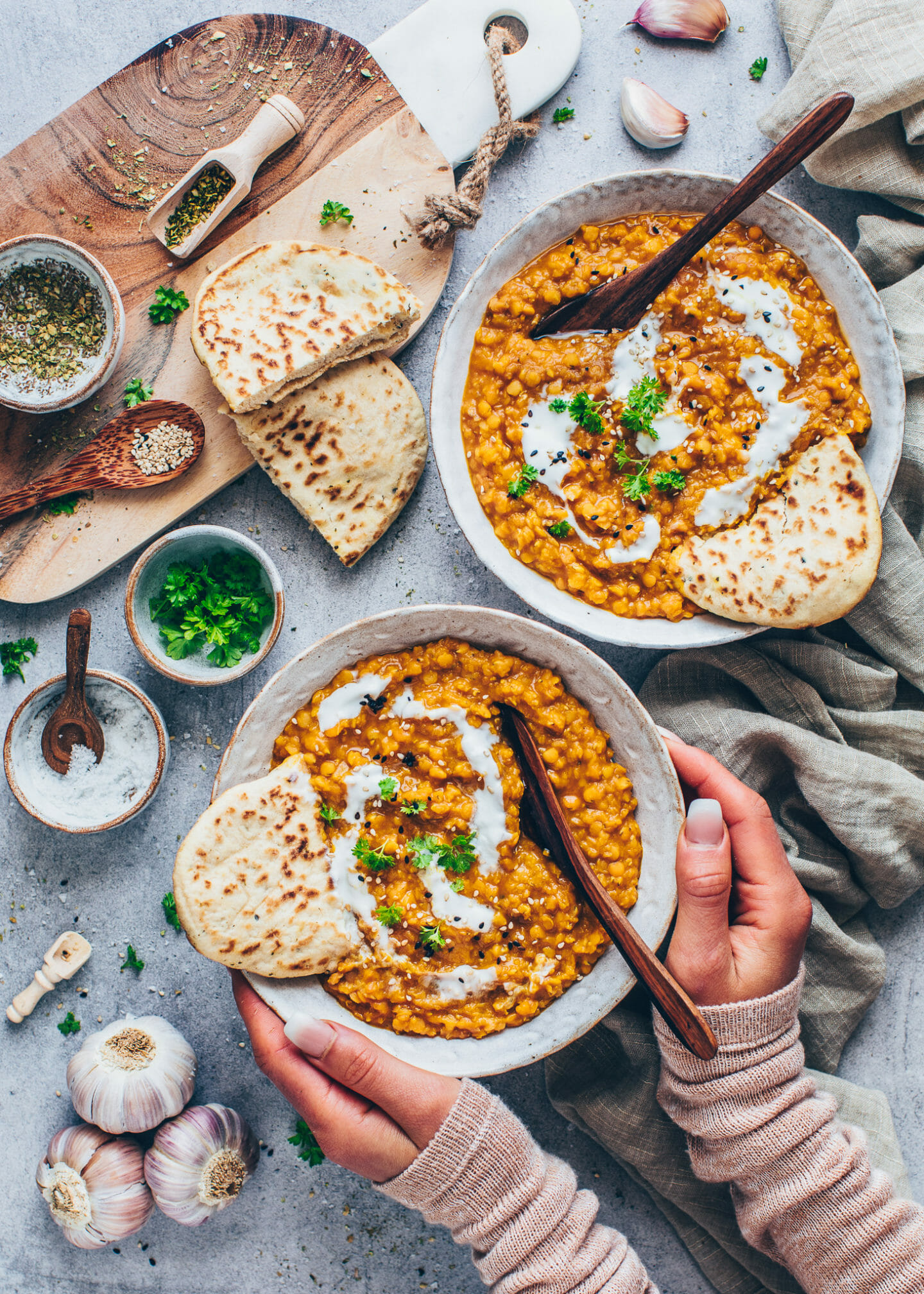 Indian Lentil Dal (Vegan Foodporn cookbook)