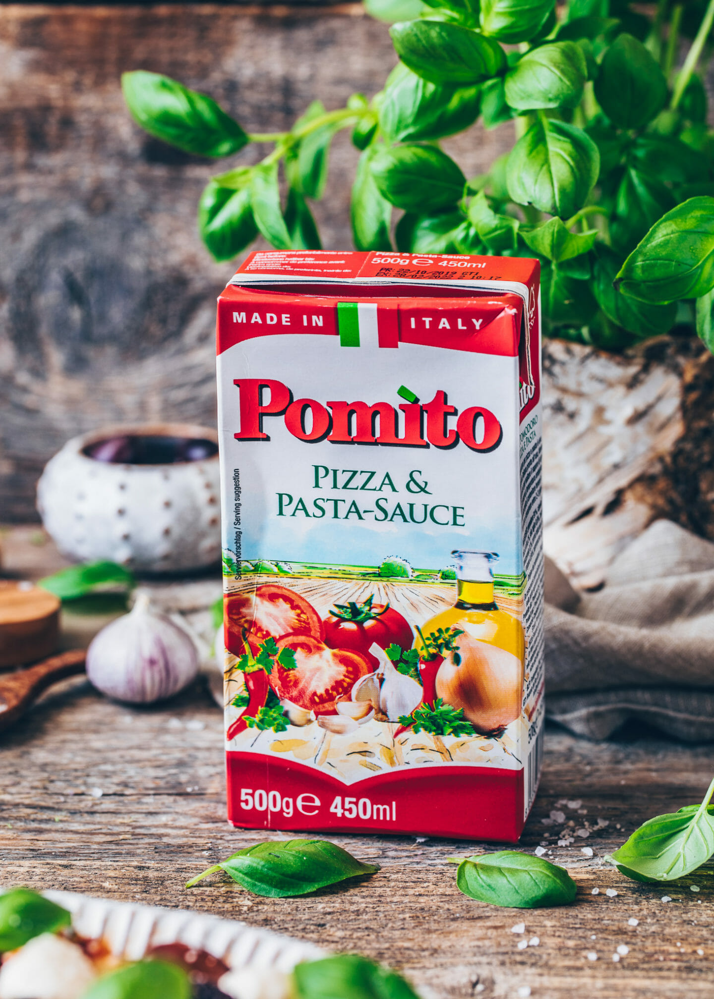 Pomito Pizza und Pasta-Sauce