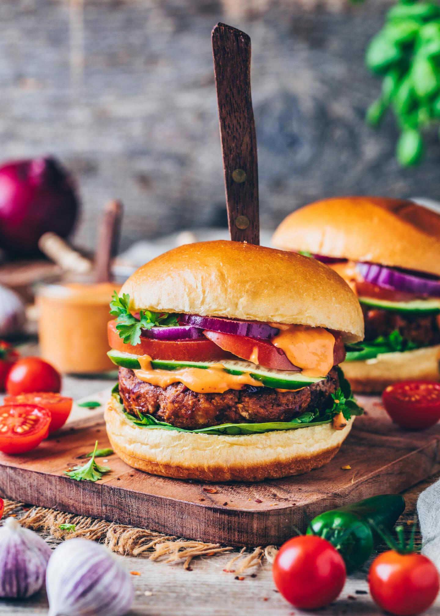 The Best Vegan Burger Recipe Easy Gluten Free Bianca Zapatka Recipes
