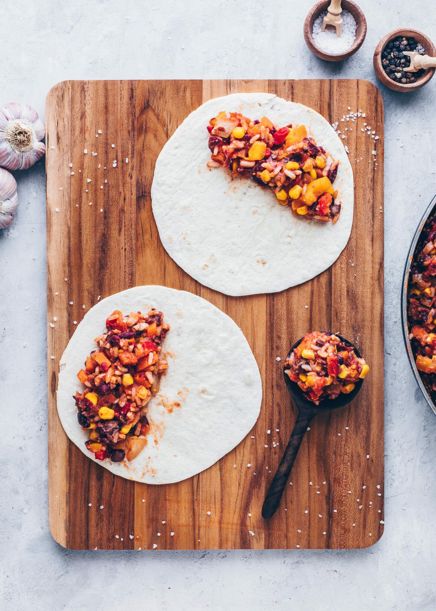 how to make vegan enchiladas